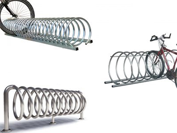 Spiral-Fahrradständer